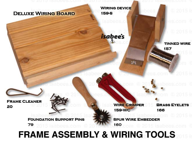 welcome to isabees com beekeeping tools and equipment rh isabees com how to wire a large picture frame how to wire a picture frame to hang